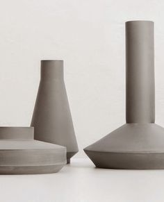 Vases designed by Milia Seyppel