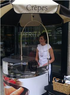 Street Food: Crepes from St Paul, Minneapolis - Explore the World with Travel Nerd Nici, one Country at a Time. http://TravelNerdNici.com