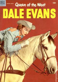   Queen of the West Dale Evans (1954) comic books