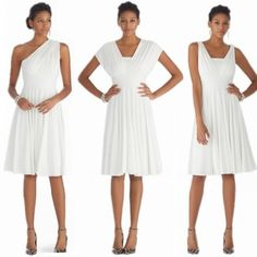 Fashion Ladies Women Sexy V Neck Sleeveless Two Ways Wear Solid Casual Party Dress