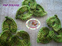 Manias do Croche: Pap - Folha Henequim