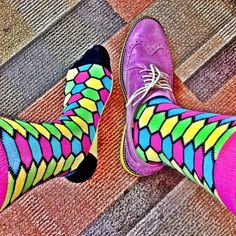 Loving the colors LYF Socks provides.