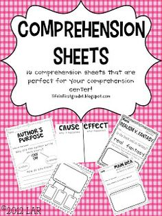 Life in First Grade: Reading Street - free comprehension sheets and decodeable readers for first grade. Reading Intervention, Kindergarten Reading, Reading Activities, Reading Skills, Teaching Reading, Reading Comprehension, Guided Reading, Teaching Ideas, Reading Tips