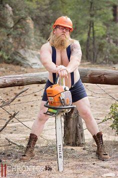 """Dudoir."" Because bearded lumberjacks want to feel sexy too."