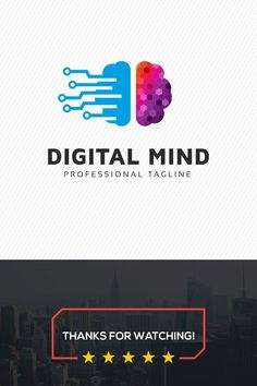 Digital Mind Logo multifunctional logo that can be used in technological companies, in companies and applications for software development, construction companies, architectural studies and other purposes Its design is simple and easy to set up It - t Technology Design, Technology Logo, Digital Technology, Technology Gadgets, It Icons, Technical Innovation, Chromebook, Program Design, Tech Logos