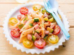 Salade de pâtes toute fraîche, facile et pas cher