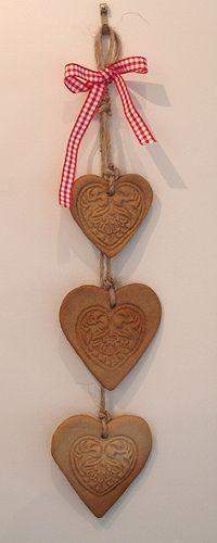 Salt dough hearts   Flickr - Photo Sharing!