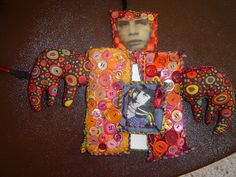 Teesha's fabric journals by Charger's and Frankie's Mommy, via Flickr