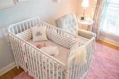 Project Nursery - Pink and Gray Nursery