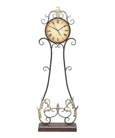 Take A Look At This Gilded Metal Floor Clock By All In Good Time Collection  On