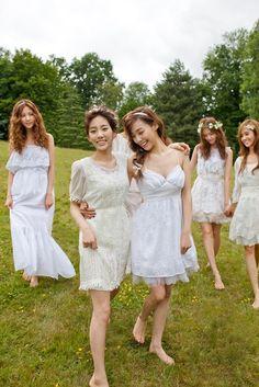 So pure, so cuty... so pretty! So Girls' Generation ♡