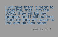 Jeremiah 24:7