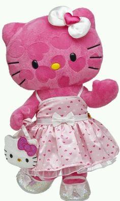 Pink Hearts Hello Kitty