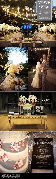 Incredible Dallas garden wedding with gorgeous lighting from Beyond!
