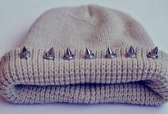 studded cap