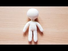ONE PIECE AMIGURUMI BODY (NO BG MUSIC) - YouTube