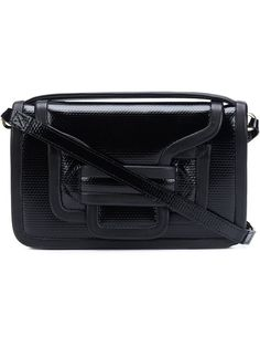 PIERRE HARDY 'Alpha' Crossbody Bag. #pierrehardy #bags #shoulder bags #patent #crossbody #