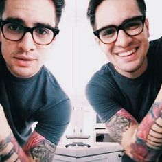 Hey Brendon, if you could stop being so attractive and funny that'd be great.