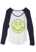 dELiAs- baseball tee with smiley face #graphictee #need