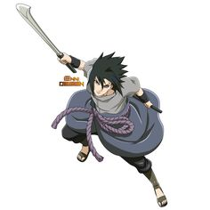 Sasuke Uchiha by iEnniDESIGN