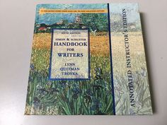 HANDBOOK FOR WRITERS 6th ED, SIMON & SCHUSTER, ANNOTATED INSTRUCTOR'S EDITION #ResourceMaterials