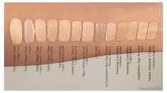 Concealer Swatches for NC25 Skintone. Tarte Shape Tape Concealer Swatches. Tarte Shape Tape Light Medium Swatch Tarte Shape Tape Light Medium Honey Swatch Tarte Shape Tape Light Sand Swatch Tarte Shape Tape Light Swatch #tarte #tarteshapetape #tarteshapetapeswatches #nc25 #nc25concealer