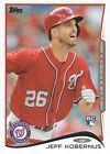 For Sale: 2014 Topps Baseball #443 Jeff Kobernus RC Washington Nationals http://sprtz.us/NatsEBay