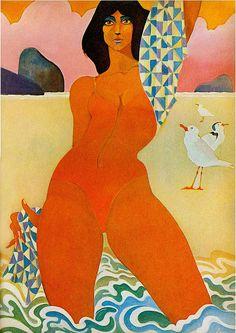 Redbook Illustrated by John Alcorn May 1970