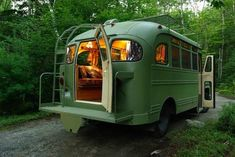 viking short bus conversion turned to cabin on wheels by winkarch 002 1959 Viking Short Bus Converted into Cabin on Wheels You Can Live In...