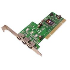3-port FireWire I/O card by SIIG. $34.69. 3-port FireWire I/O card1394 3-Port PCI I/O RoHS compliant***This item is expected to deliver in 4-10 business days. Tracking information is usually sent within 3-5 business days from the date of the purchase. This item does not ship to Alaska or Hawaii. The item also does not ship to P.O. boxes or APOs.***