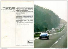 Original-Werbung/ Anzeige 1969 - DOPPELSEITE : PORSCHE - ca. 380 x 240 mm