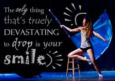 Color Guard Quote :D Just keep spinning