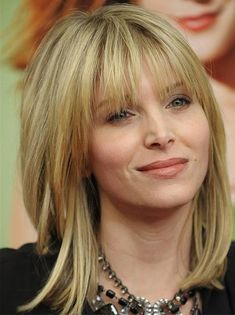 Most Fascinating Full Fringe Medium Hairstyles for Women