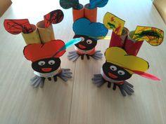 Handenstand pietjes *liestr* Diy For Kids, Crafts For Kids, Diy And Crafts, Arts And Crafts, Saint Nicholas, Work Inspiration, Creative Kids, Kids And Parenting, December