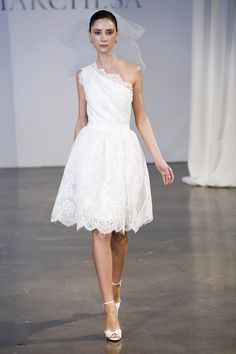 Short and Chic White Dresses from Spring 2014 - Wedding Dresses and Fashion Ideas