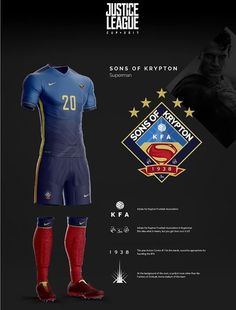 Justice League Soccer Teams Remeras De Futbol dca31b4697c5b