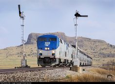 RailPictures.Net Photo: AMTK 113 Amtrak GE P42DC at Wagon Mound, New Mexico by Chase Gunnoe