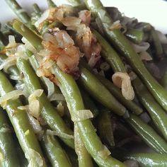 Szybki #obiad #fasolka #szalotka #zestzcytryny #sokzcytryny #greenbeans #shallots #lemonzest #lemonjuice #foodporn #instafood #lowcarb by krzysiek.drozdz