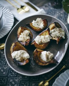 Roasted Acorn Squash from www.whatsgabycooking.com (@whatsgabycookin)