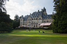 Schlosshotel Kronberg, Germany - a former king's palace will make your hotel stay a royal adventure! 18 hole Golf Course.
