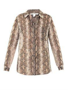 Diane Von Furstenberg Lorelei blouse Diane Von Furstenberg, Ux ui Designer,  Women Wear e4e0db8fbd4b
