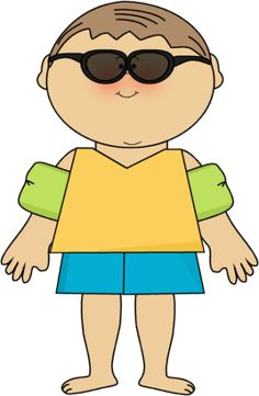 free clipart for teachers clothing | Boy Ready for Summer ...