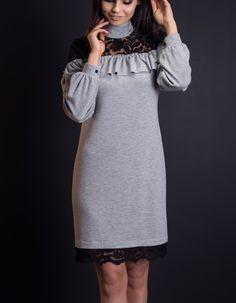 #falbanka #koronka Cold Shoulder Dress, Dresses, Fashion, Vestidos, Moda, Fashion Styles, Dress, Fashion Illustrations, Gown