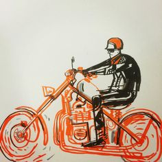 Artist has been drawing some cool bikes lately. Stop by his feed to check 'em out. Simple Doodles, Motorcycle Art, Drawing Practice, Cartoon Kids, Comic Artist, Cool Bikes, Colored Pencils, Screen Printing, Ink