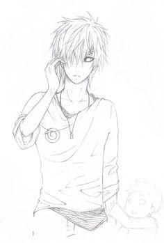 A fan art of Gaara from a certain ongoing fanfic that I love very much. Hinata, Naruto Shippuden, Naruto Gaara, Naruto Boys, Shikamaru, Boruto, Otaku, Kurotsuki, Sasuhina