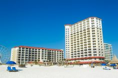 Located on the beach in Pensacola Beach, Florida.  #pensacolabeach  http://hiltonpensacolabeach.com/