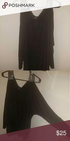 8750251ba437 Gemstone Slit Sleeve Top by torrid