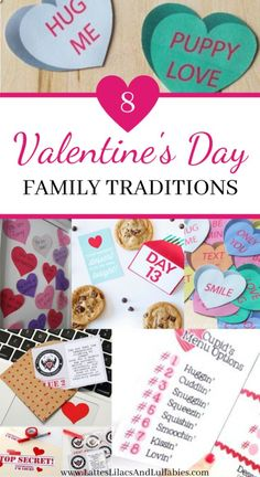 Valentine's Day is not just for couples! Here are some of our favorite Valentine's Day family traditions, activities, and ideas that everyone will love! Valentine Day Crafts, Love Valentines, Walmart Valentines, Marriage And Family, Family Life, Sinful Colors, Thing 1, Diy Party Decorations, Family Traditions
