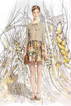 RED Valentino - Spring Summer 2014 Ready-To-Wear - Shows - Vogue.it