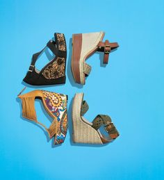 Add a few inches to your look in a jaw-dropping #wedge!
